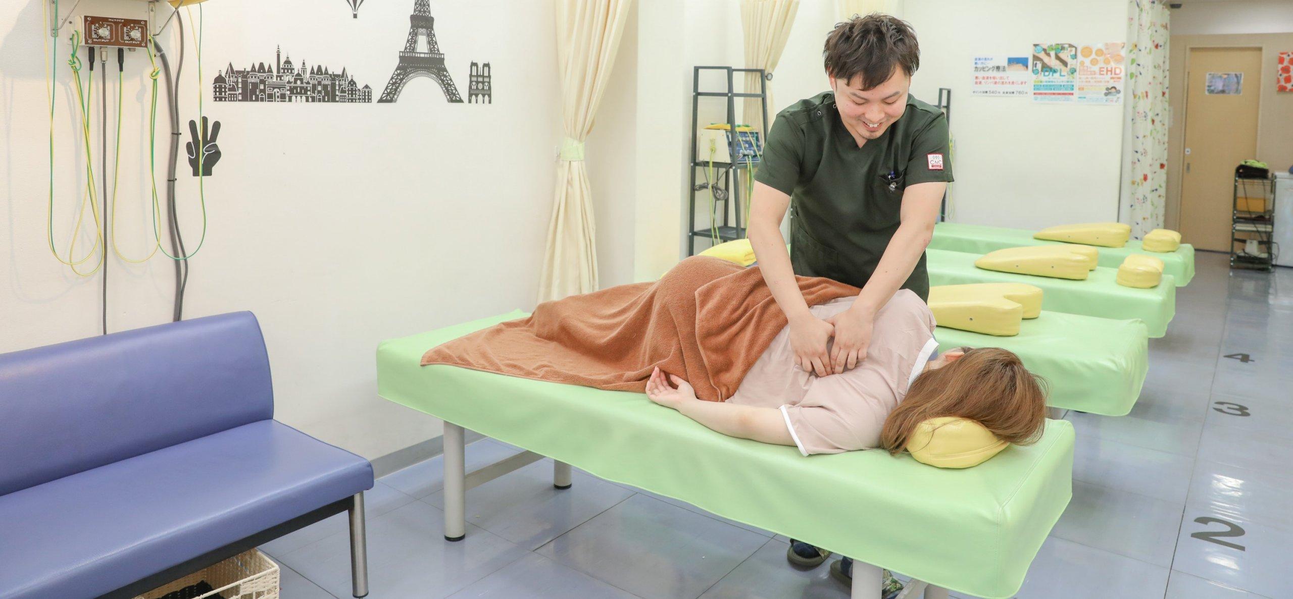 あなたの症状・状態に合わせた<br>適切な施術を提供します